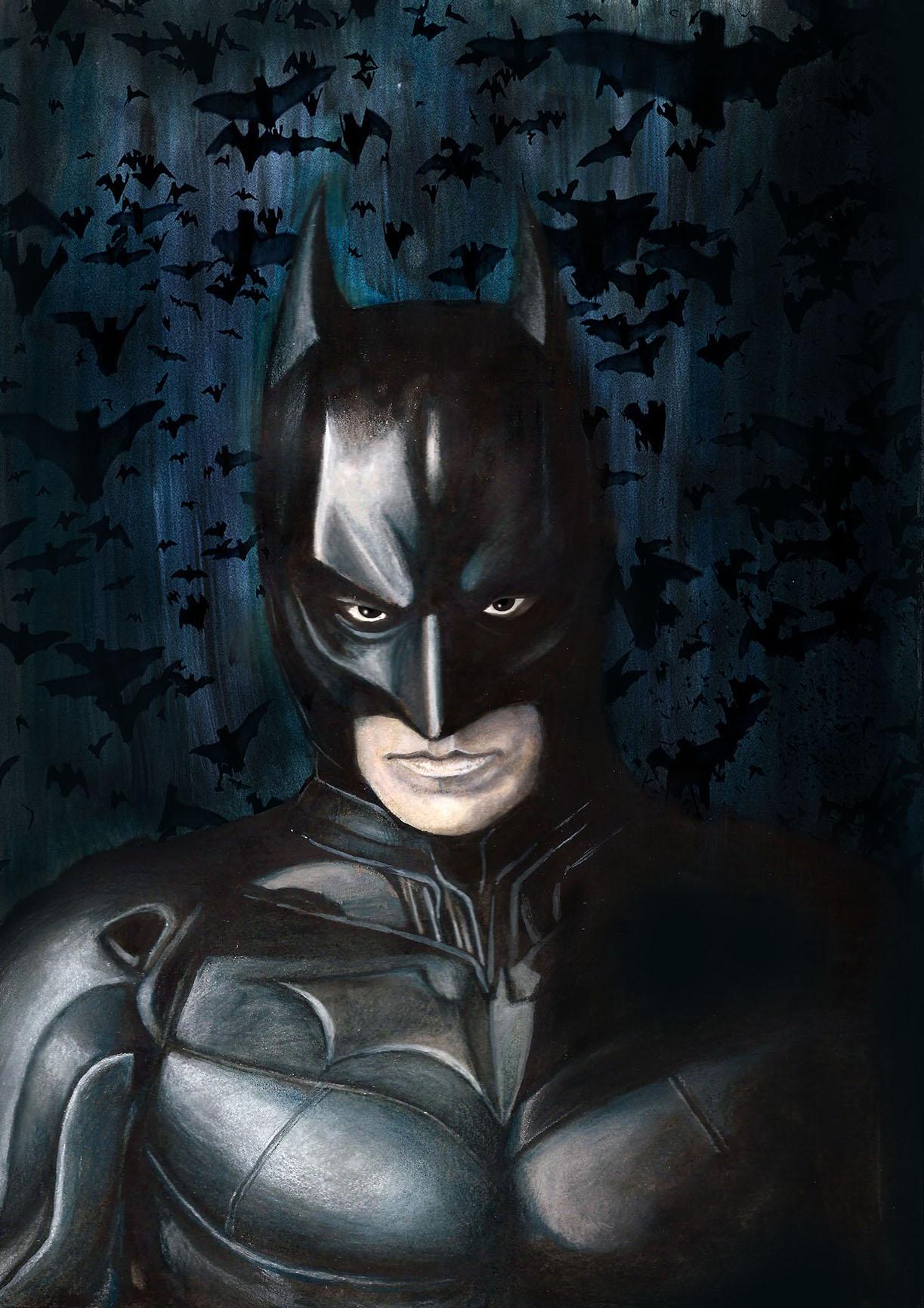 Illustrazione di Batman - Zoa Studio