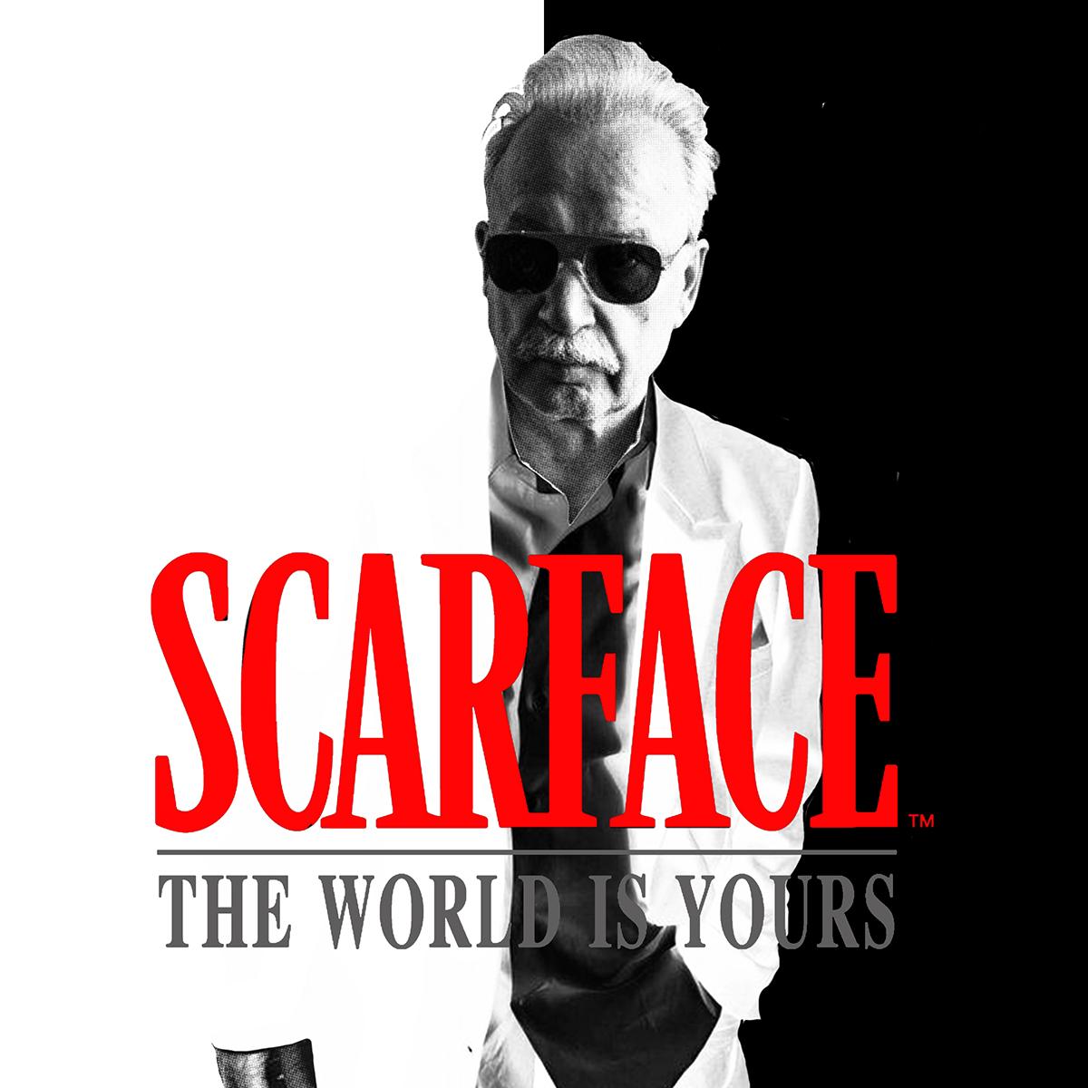 Tributo di Zoa Studio a Scarface e Giorgio Moroder