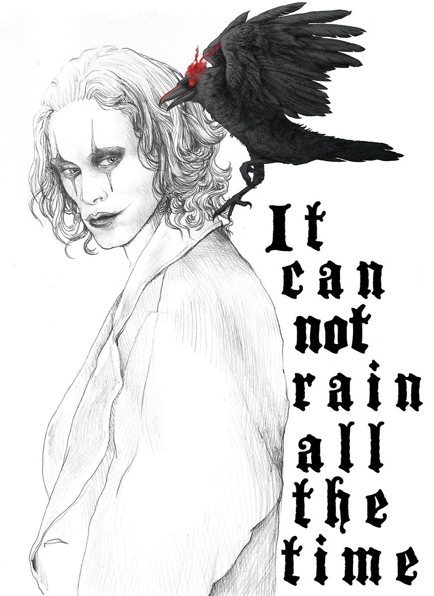 Illustrazione di Zoa Studio per Il Corvo