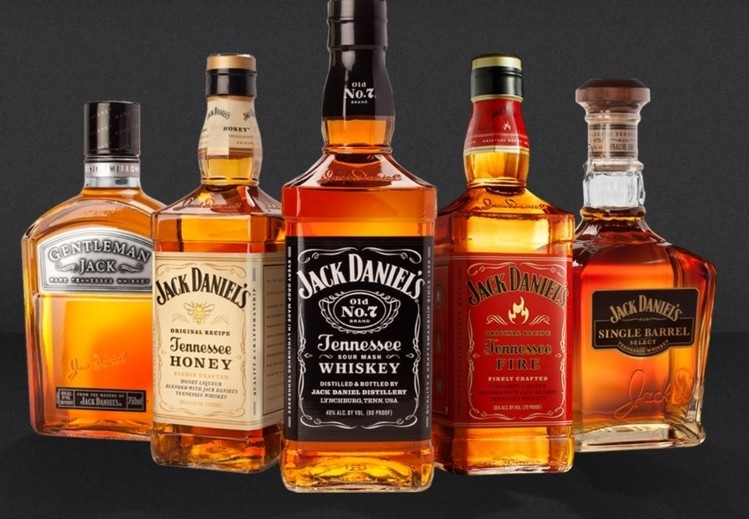 Jack Daniel's whiskey flavors