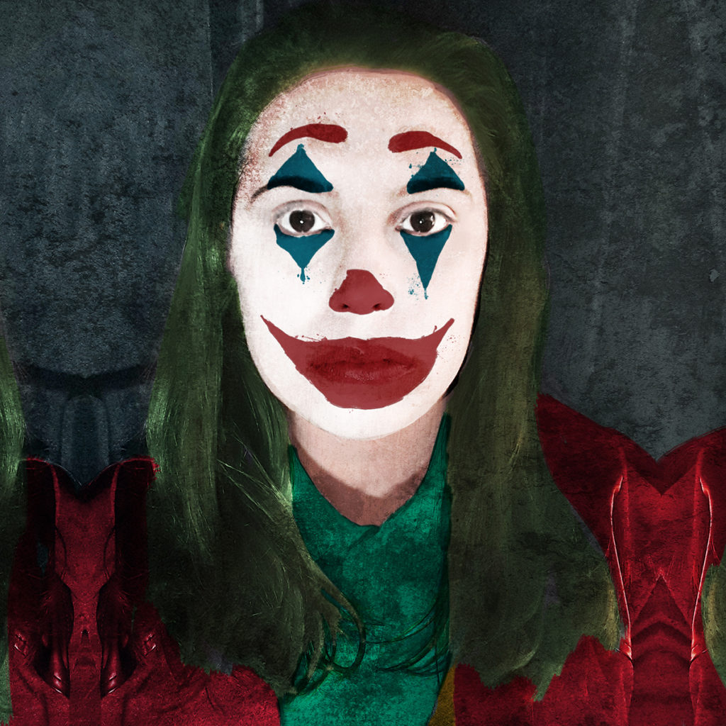 Zoa Studio nella veste di Joker