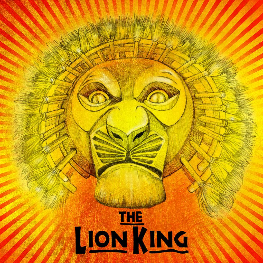 Illustrazione di Zoa Studio per The Lion King
