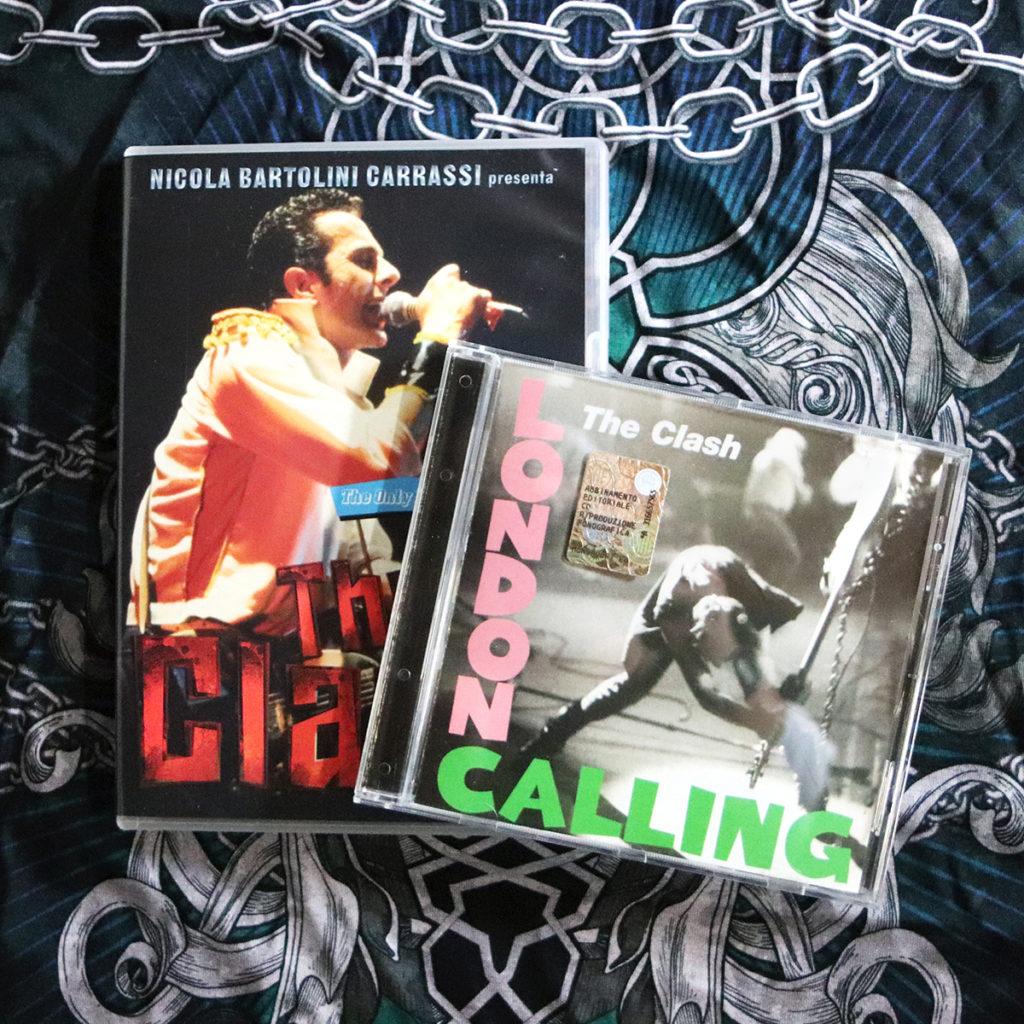 The Clash documentario, London Calling album, stampa Zoa Studio