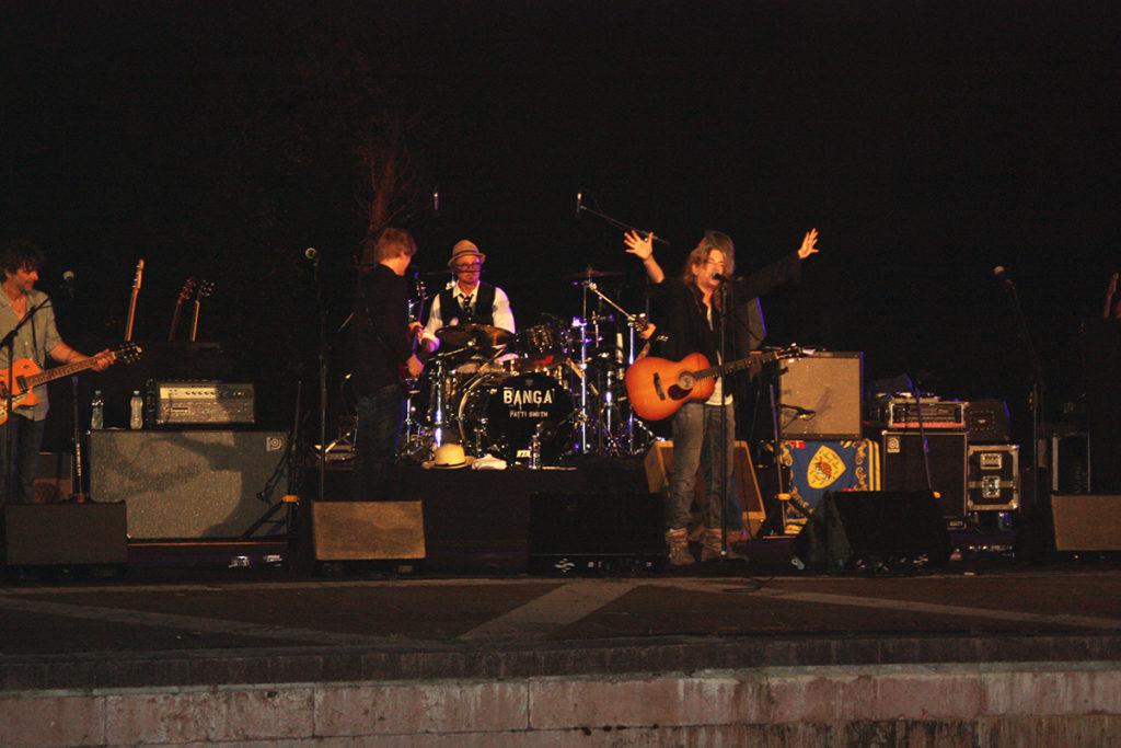 Foto Zoa Studio del concerto di Patti Smith all'isola di San Giorgio di Venezia