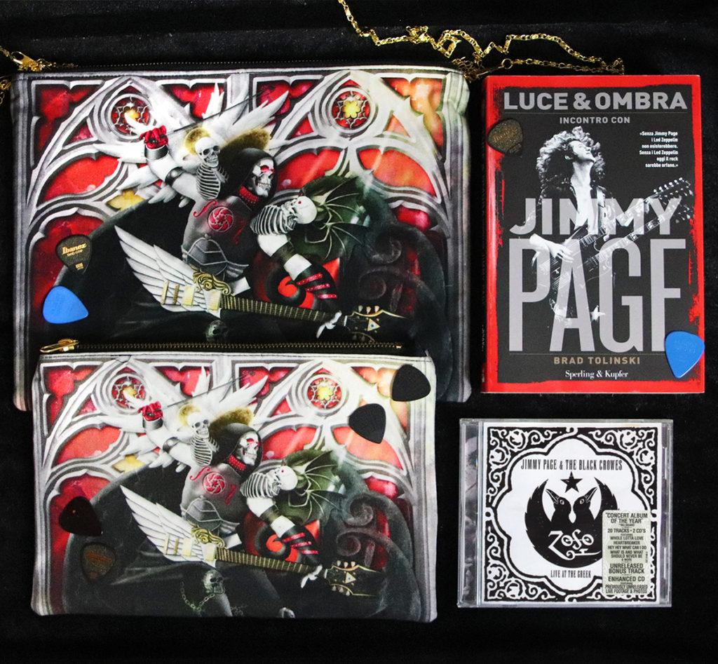 Jimmy Page libro e cd - Pochette di 2 dimensioni Zoa Studio