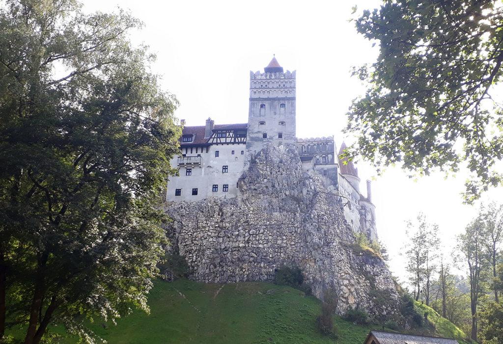 Foto del Castello di Bran associato alla dimora di Dracula