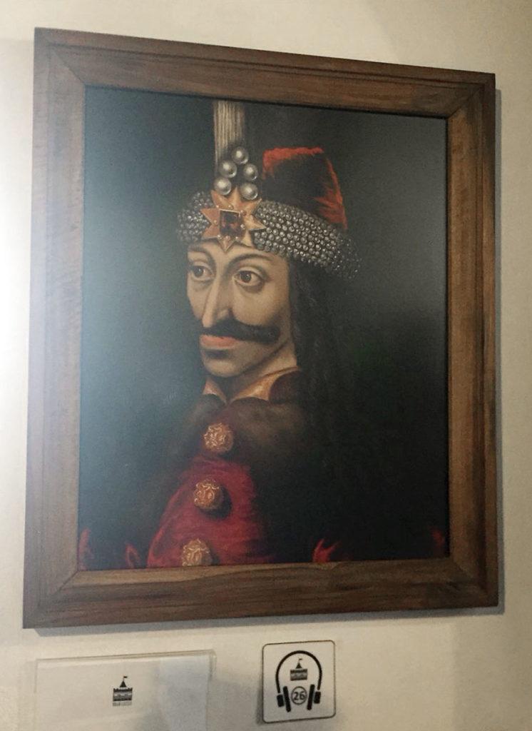 Ritratto di Vlad Tepes, conosciuto come Dracula