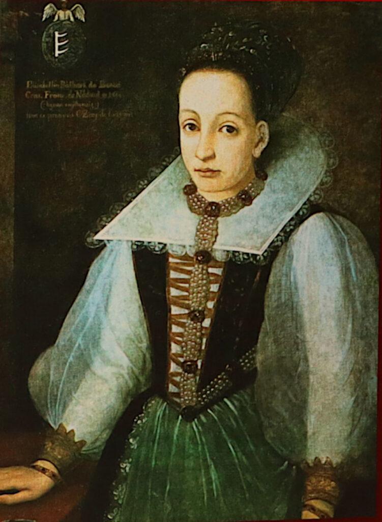 Elizabeth Báthory ritratto ad olio