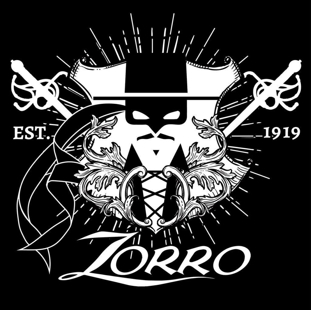 Illustrazione di Zoa Studio a tema Zorro