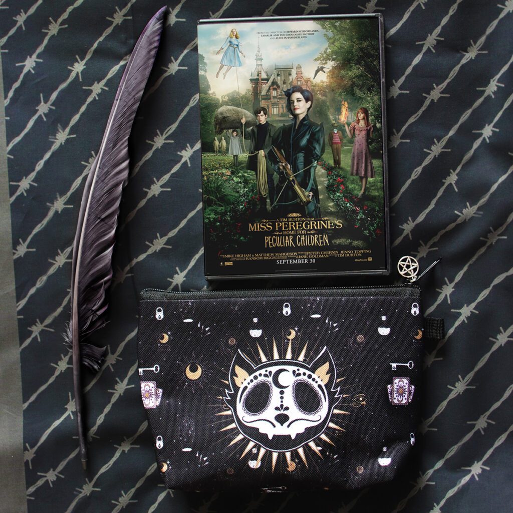 Miss Peregrine dvd, prin and bag by Zoa Studio