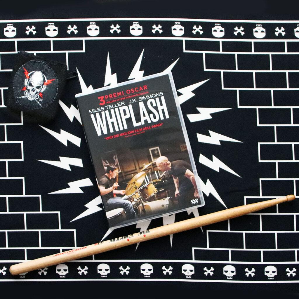 Whiplash dvd, stampa e polsiera Zoa Studio