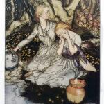 Arthur Rackham illustrations for The Goblin Market of Christina Rossetti