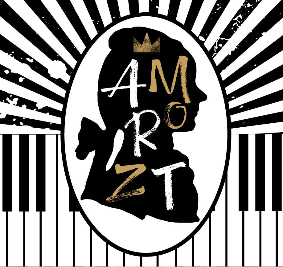 Illustrazione di Zoa Studio dedicata a Wolfgang Amadeus Mozart
