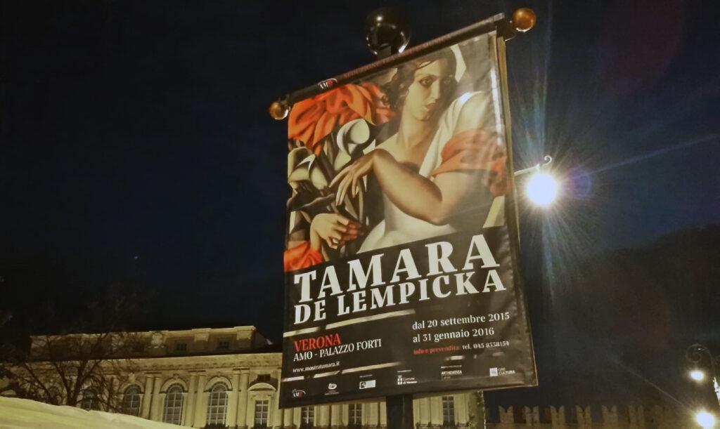 Tamara de Lempicka a Verona (2016)