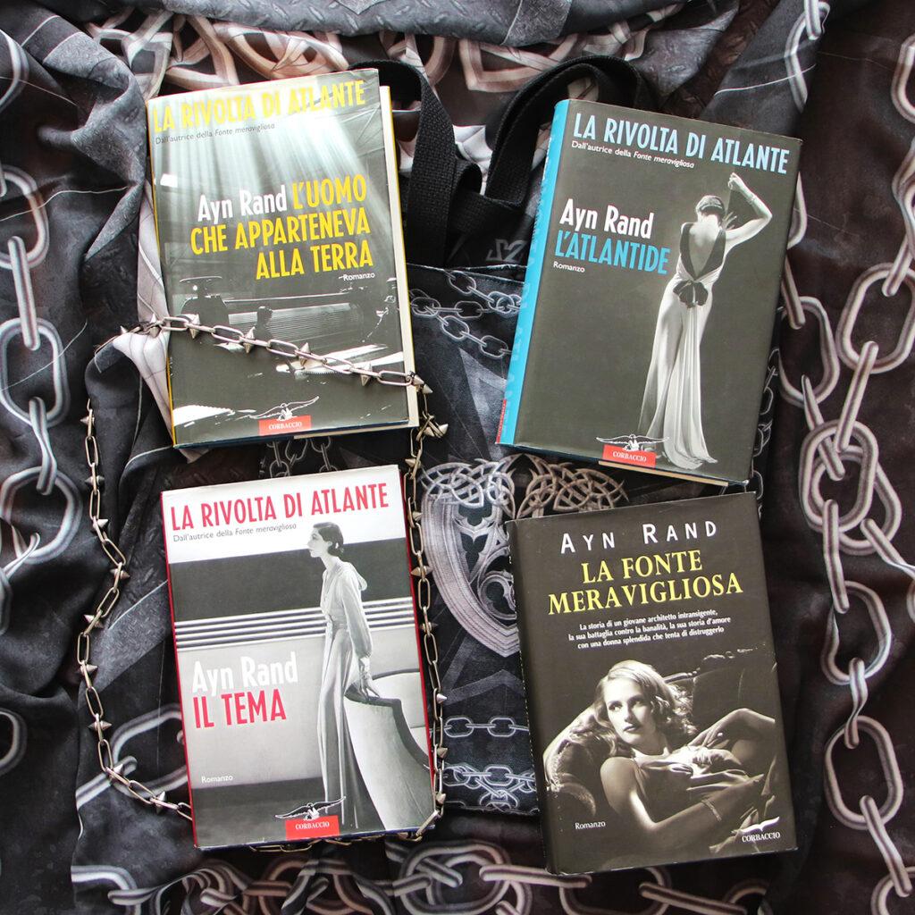 Ayn Rand libri e stampe Zoa Studio