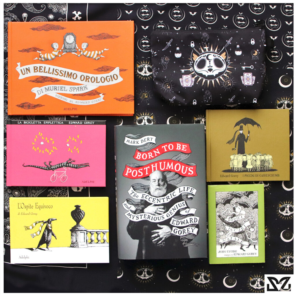 Edward Gorey libri con stampe Zoa Studio