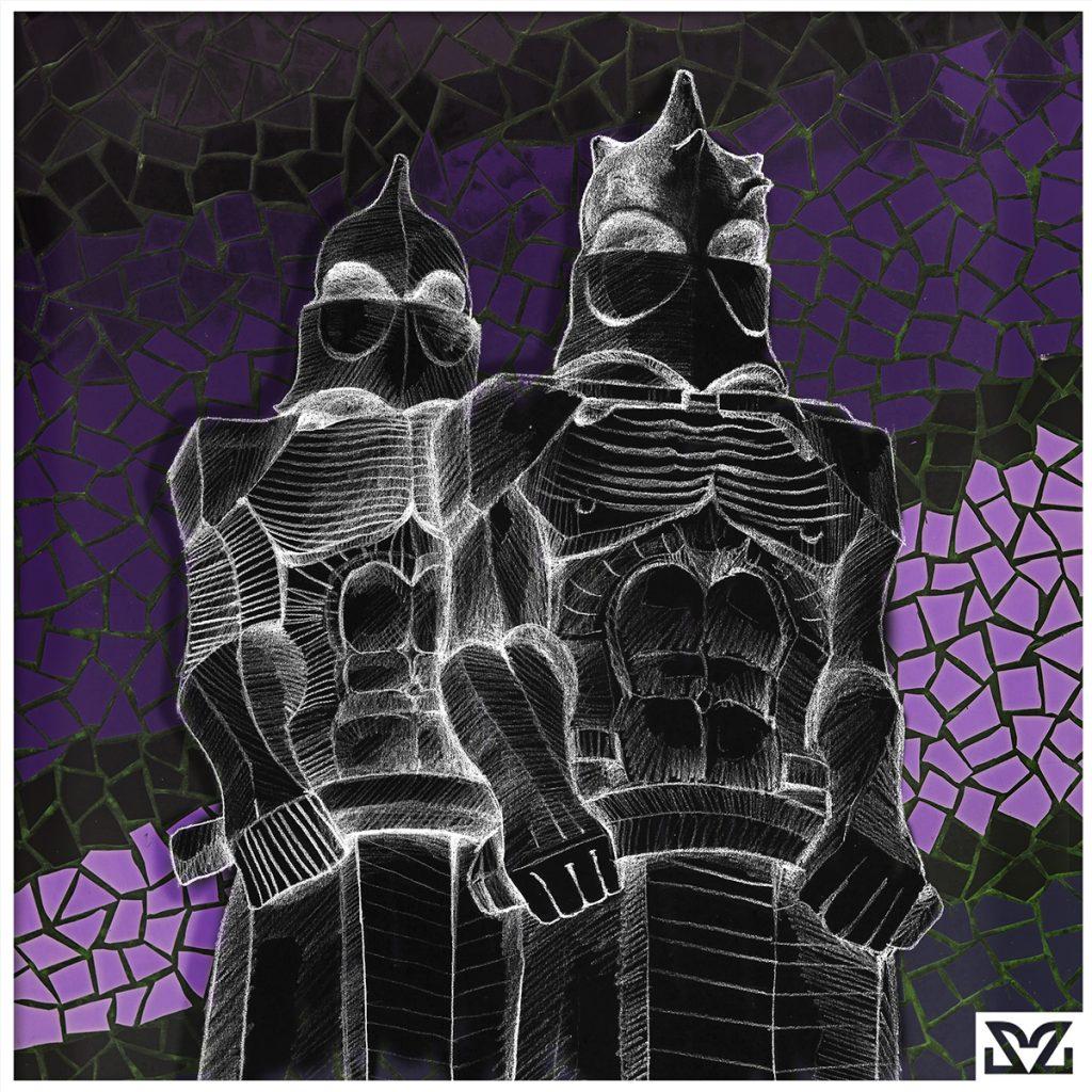 Illustrazione dedicata ai soldati di Antonì Gaudi